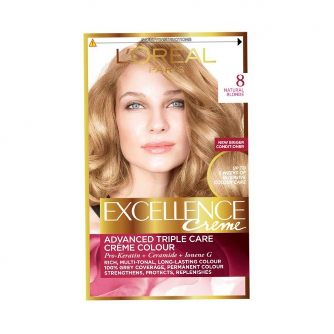 Buy Loreal Excellence Natural Hair Color Blonde 8 At The Best Price In Lahore And Islamabad Metroonline Pk